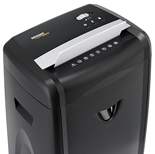 AmazonBasics 12-Sheet High-Security Micro-Cut Shredder