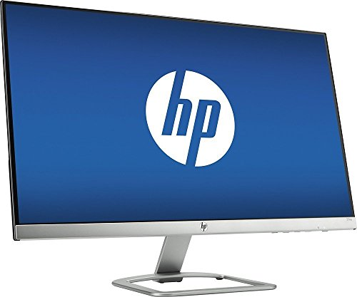Newest HP Model 27 inch LED-Lit Widescreen IPS FHD (1920 x 1080) Monitor, HDMI, VGA, 178°horizontal, 1000:1 Typica, Stunning Visuals, Bezel-Less Display