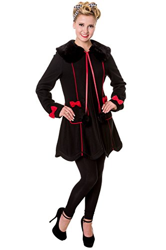 Banned-Bows-Vintage-Coat-Black-or-Red