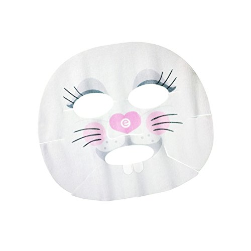 essence - Gesichtsmaske - wood you love me? - hydrating face sheet mask 01 - Be happy! Be a Bunny!