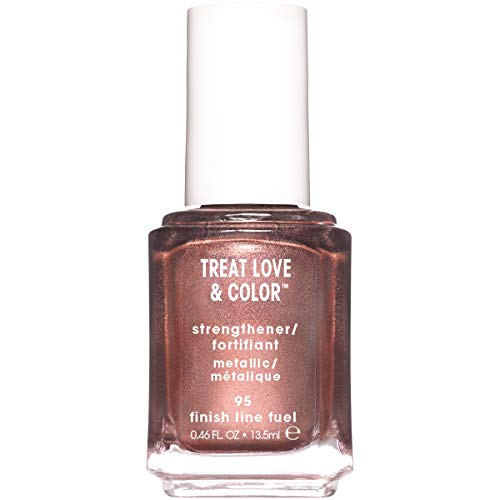 essie Metallics Nail Polish & Strengthener, Finish Line Fuel, 0.46 Fluid Ounce ()