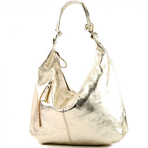 Made Italy , Cabas pour femme Gold-metallic