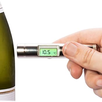 Plastic Cased Alltemp Select Infrared Wine Thermometer with Clip