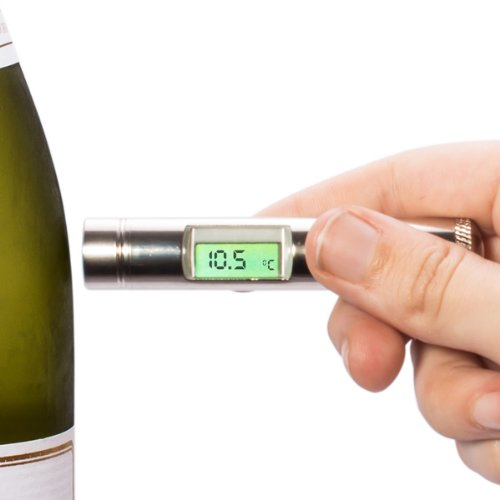 (Plastic Cased Alltemp Select Infrared Wine Thermometer with)