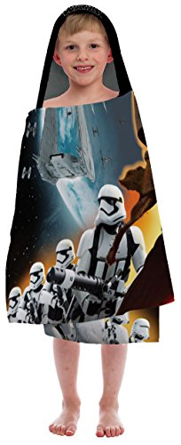 Character Bath (Star Wars Ep7 Kylo Ren and Storm Trooper 'You Be The Character' Cotton Hooded Cape)