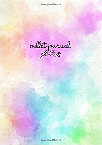Amazon.com: Bullet Journal: Colorama Notizbuch A5 Dotted ...