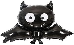 Halloween Party Decorations Black Vampire Bat Aluminum Balloons Festival Decoration