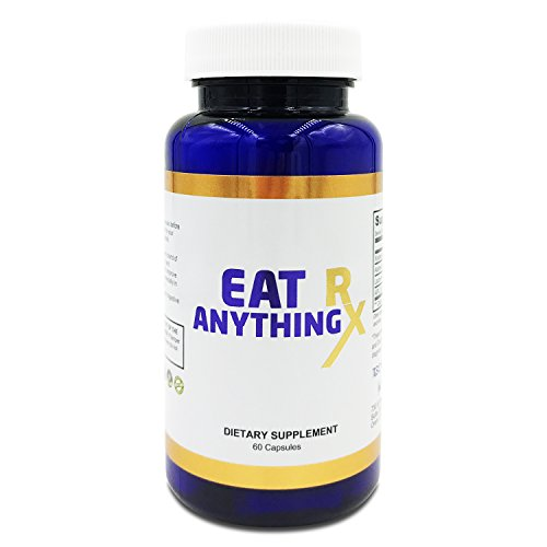 Eat Anything Rx Digestive Enzymes, Fructose Malabsorption Aid, More- Prebiotics, Probiotics & Xylose Isomerase -Digestion & Lactose Absorption -May Help Bloating, Gas Relief, IBS & Leaky Gut (60)