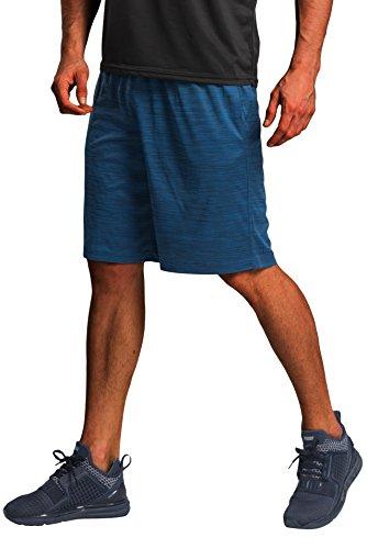 CYZ Men's Performance Jersey Short-Blue Melange-M
