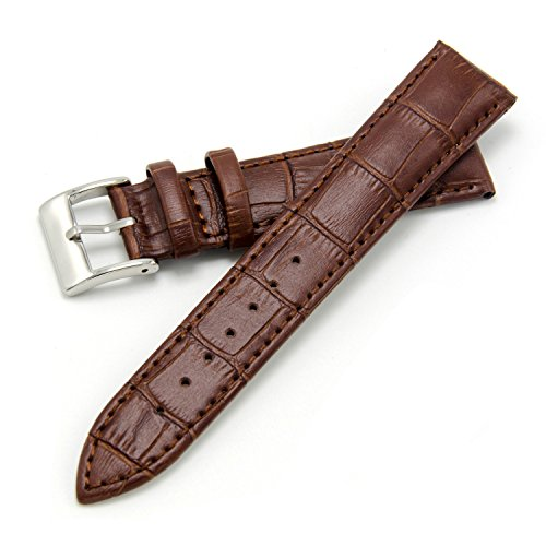 118829935ea CIVO Genuine Leather Watch Bands Top Calf Grain Leather Watch Strap 16mm  18mm 20mm 22mm 24mm