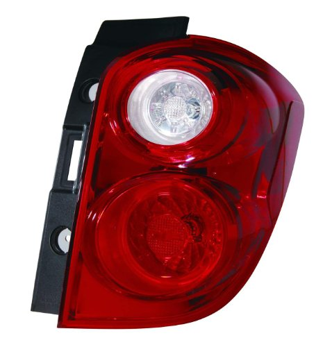 Depo 335-1950R-AF Chevrolet Equinox Passenger Side Tail Lamp Assembly with Bulb and Socket (NSF (Side Lamp Assembly)