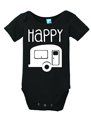 Happy-Camper-Onesie-Funny-Bodysuit-Baby-Romper