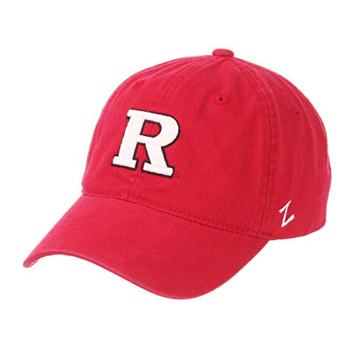 NCAA Rutgers Scarlet Knights Men's Scholarship Relaxed Hat, Adjustable Size, Team Color
