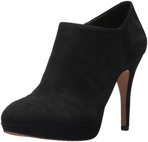 Vince Camuto Women's Elvin Bootie,Black Nappa,7 M US