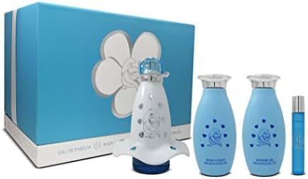 Smurfs Smurfette Blue Magic Fragrance Set, 4 Count