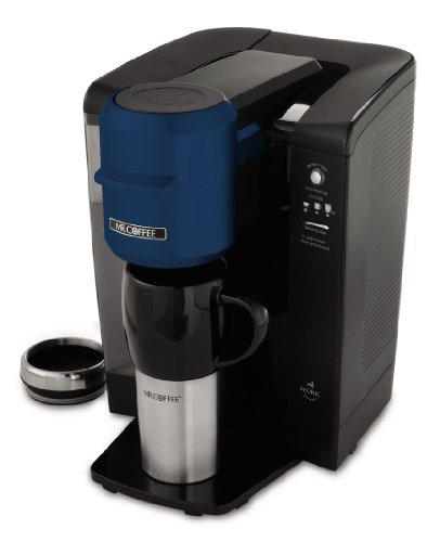 Mr Coffee Keurig Coffee Maker Reviews : Mr. Coffee BVMC-KG6BL-001 Single Serve Coffee Brewer Powered by Keurig Brewing Technology, Blue ...