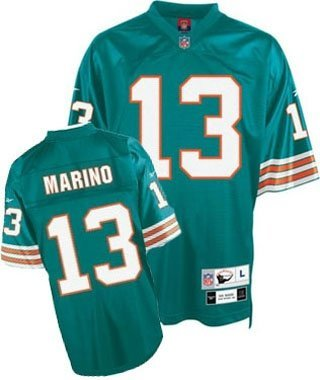 Reebok Miami Dolphins Dan Marino Premier Throwback Jersey Extra Large - Miami Dolphins Throwback Jersey