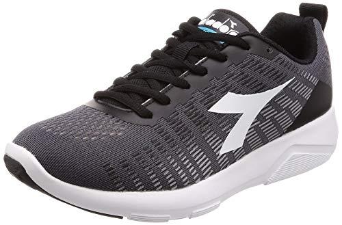 Diadora X Run 3 W, Zapatillas de Running para Mujer Multicolor (Nero/Argento/Bianco C1877)