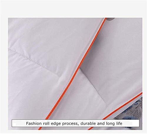 ZTBXQ Accueil Ustensiles Couette Coton Hiver Hiver Chaud Velours Core Rembourrage en Coton Entier Fibre Naturelle Saine et respectueuse de l'environnement (6200 * 230cm 4kg)