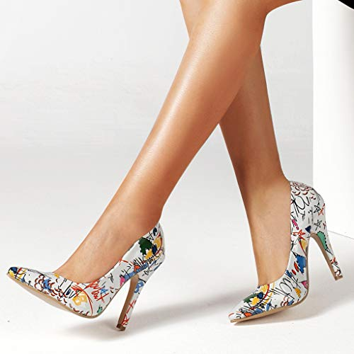 Wild Vovotrade Stiletto Bianca A 2019 Da Con Ladies Shallow Scarpe Shoes ♦ Tacco Spillo Elegant Alto Pointed Donna Single Col Primavera UqdCxRw7