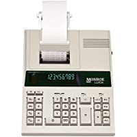 Monroe 122PDX Medium-Duty 12-Digit Print/Display Calculator With The Fastest Printing Speed