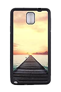 Generic Custom Picture Road To The Sunset TPU Rubber Snap On Skin Cover Back Cell Phone Case For Samsung Note 3