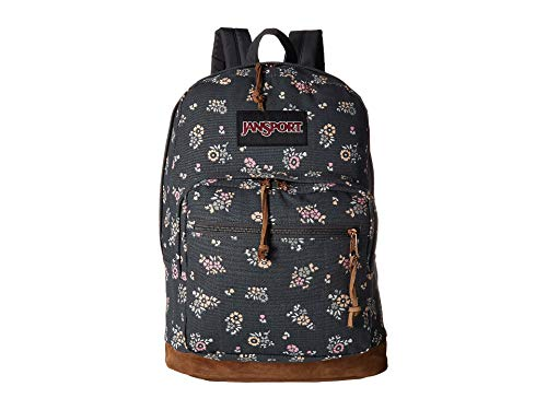Floral Blooms (JanSport Right Pack Expressions Laptop Backpack - Tiny Blooms Floral)