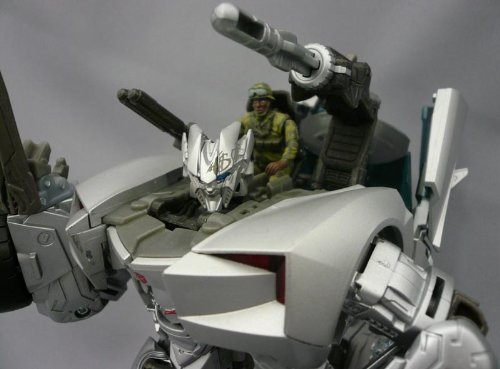 RA-22 Human Alliance Sideswipe with Sargent Epps - Import Version