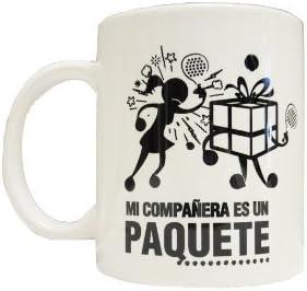 Gopadel - Taza padel mi compañera es un paquete: Amazon.es ...