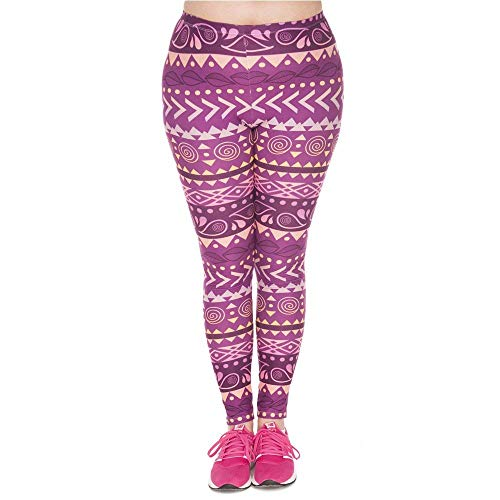 Alta Estivi Yoga Plump Vivere Pants Leggings Purple Plus Leggins A Sportivi Da Boho Moda Maodaaimaoyi Vita Stampato Stretch Lgd45748 Pantaloni IxvgT7Egqw
