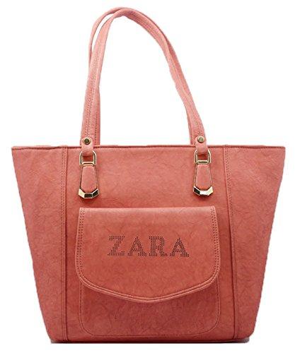 4ece331c818 ZARA Women's PU Hand Bag(Light Pink): Amazon.in: Shoes & Handbags