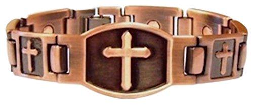 ProExl Christian Cross Copper Bracelet
