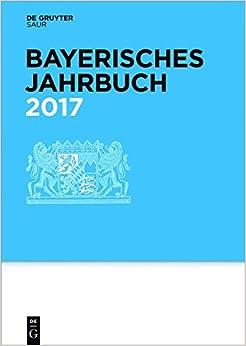 Book Bayerisches Jahrbuch 2017