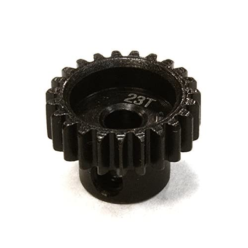Integy RC Model Hop-ups C26301 Billet Machined Steel 23T Pinion Gear for HPI 1/10 Sprint 2 On-Road