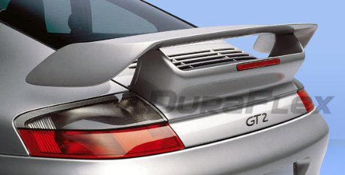 Duraflex Replacement for 1999-2004 Porsche 911 Carrera 996 C4S GT-2 Look Wing Trunk Lid Spoiler - 1 Piece