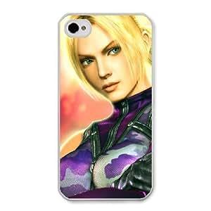 The best gift for Halloween and ChristmasiPhone 4 4s Cell Phone Case White Tekken 5 Nina Williams RPR4996852