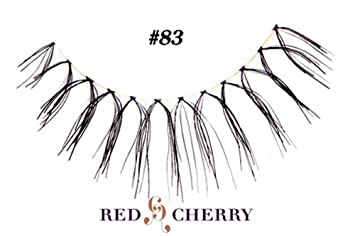 be0a78dd380 Amazon.com : Red Cherry False Eyelashes (Pack of 10 pairs) (83 ...