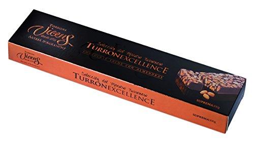 Vicens Turrón de Chocolate con Leche y Almendras Excellence - 300 gr: Amazon.es: Alimentación y bebidas