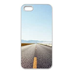 Interstate Highway Case For HTC One M7 Cover Case, Case For HTC One M7 Cover Girls Cheap Anti-Slip Stevebrown5v - White