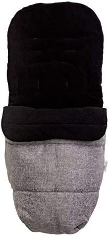 Cosy Toes in Grey Roma Universal Footmuff