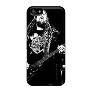 Bumper Cell-phone Hard Covers For Iphone 5/5s With Support Your Personal Customized Fashion Finntroll Band Series AlainTanielian