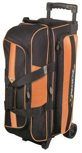 Streamline 3 Ball Roller Bowling Bag by Storm- Orange/Black by Storm