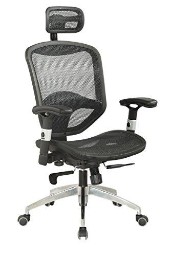 Milan Vada Mesh Seat Adjustable Pneumatic Gas Lift Office Chair