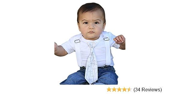 3c6155c03 Amazon.com: Noah's Boytique Baby Boys Baptism Christening Suit Outfit:  Clothing