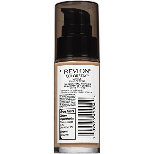 Revlon ColorStay Liquid Foundation For Combination/oily Skin, Nude, 1 Fl Oz