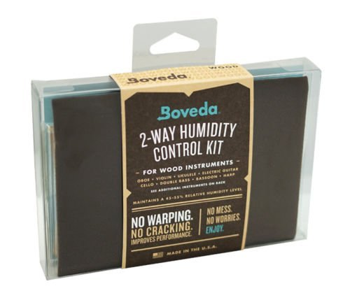 Boveda 49-Percent RH Two-Way Humidity Control for Guitars and Wood Instruments - 2-Pack Starter Kit Comes with Two 70-Gram Boveda Packs