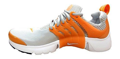 Nike - Presto Gs Kids Kids Scarpa Da Corsa Puro Platino Arancio Vivo Bianco Nero 004