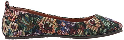 Gentle Souls Women's Dana Comfort Ballet Flat Floral reliable fYaX7g