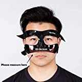 Qiancheng Nose Guard Face Shield, Carbon Fiber