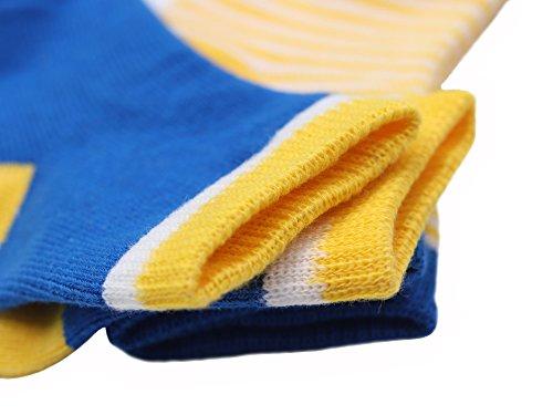 DEBAIJIA 4 Paia Calzini Bambini Calze Ragazze Ragazzo Spessi Cotone Caldo Inverno Confortevole 0-36 Mesi Abbigliamento 4